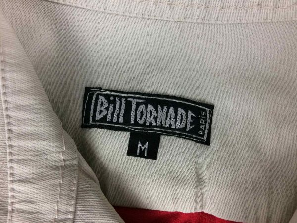 BILL TORNADE Paris Polo Shirt Vintage 90s Gabba Vintage 5 resultat rotated - BILL TORNADE Paris Polo Shirt Vintage 90s