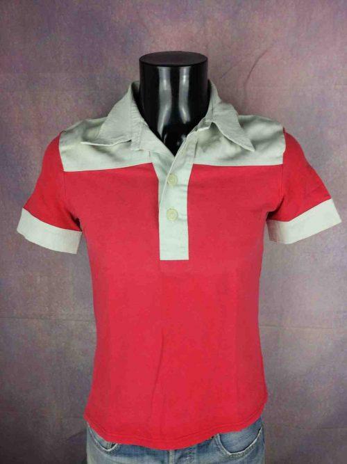 BILL TORNADE Paris Polo Shirt Vintage 90s - Gabba Vintage