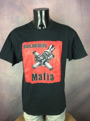BLACK LABEL SOCIETY T-Shirt Mafia VTG 2005 - Gabba Vintage