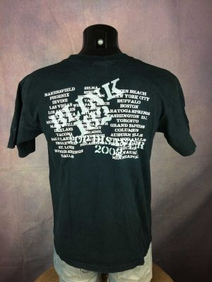 BLINK 182 T-Shirt US Tour 2002 Pop Disaster - Gabba Vintage