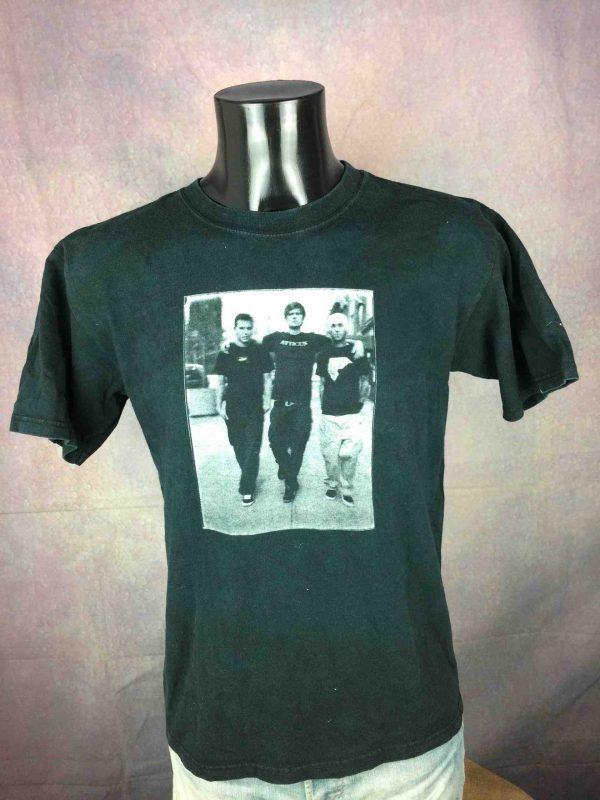 BLINK 182 T-Shirt US Tour 2002 Pop Disaster - Gabba Vintage