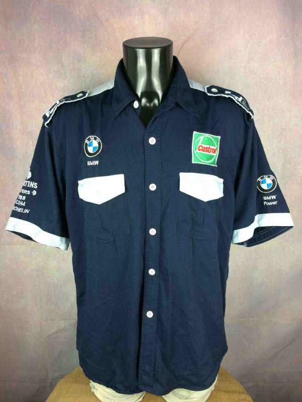BMW WILLIAMS F1 Team Chemise Vintage 00s - Gabba Vintage