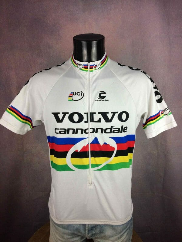 CANNONDALE VOLVO Maillot UCI Vintage 90s - Gabba Vintage