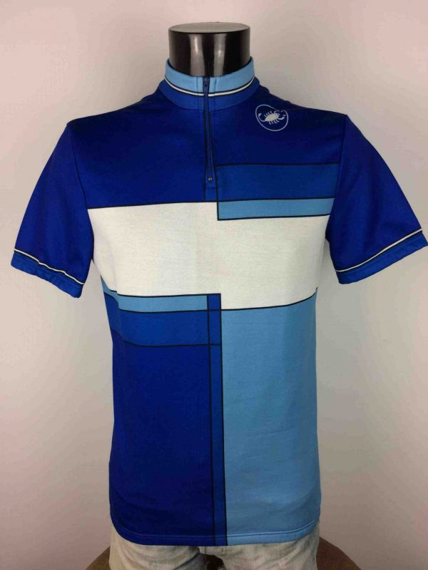 CASTELLI Maillot Made in Italy Vintage 90s - Gabba Vintage