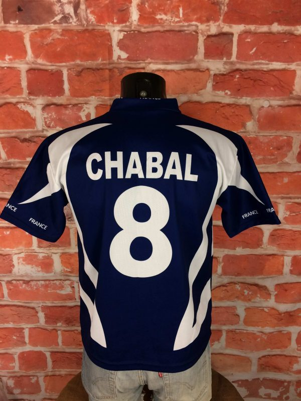 CHABAL Maillot #8 France Vintage 00s Replica - Gabba Vintage