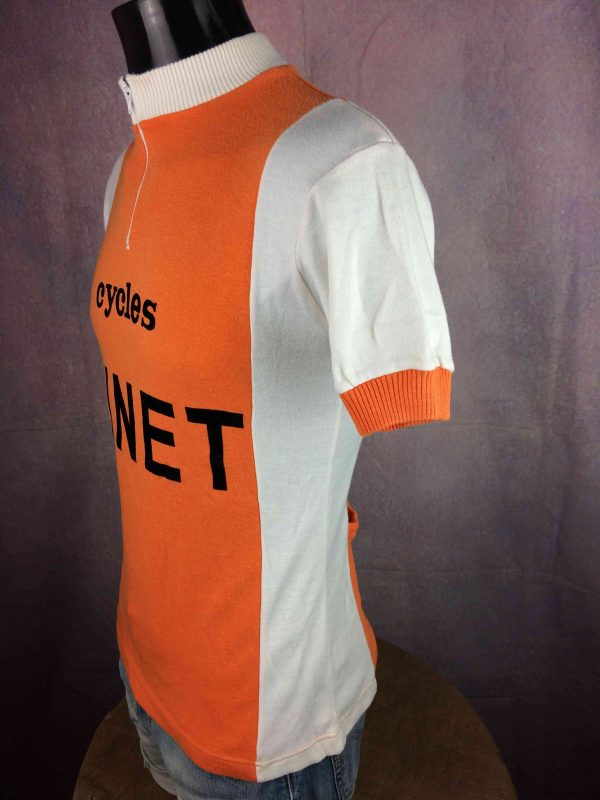 CYCLES GINET Maillot France True Vintage 70s Gabba Vintage 5 scaled - CYCLES GINET Maillot France True Vintage 70s