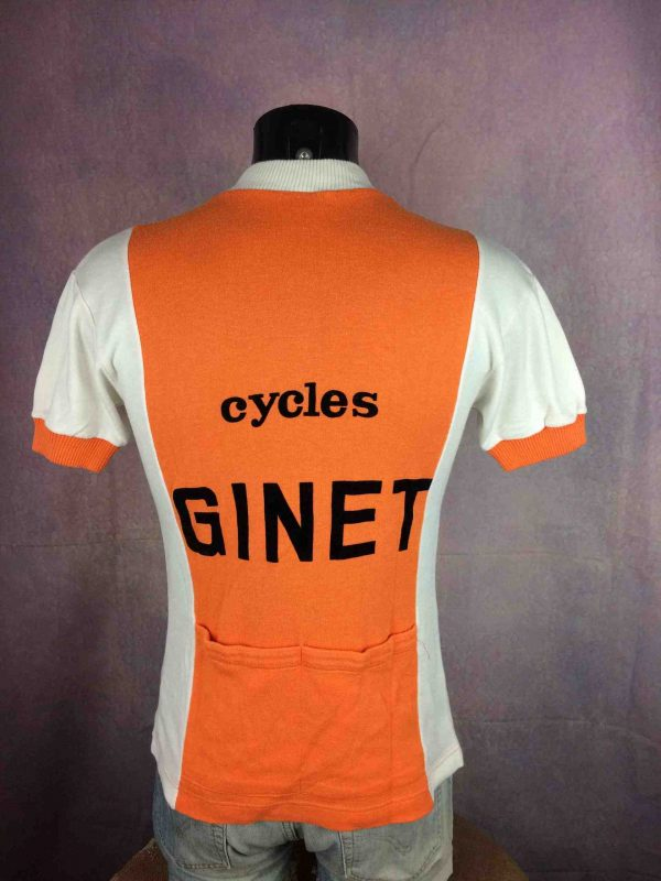 CYCLES GINET Maillot France True Vintage 70s Gabba Vintage 6 scaled - CYCLES GINET Maillot Vintage 70s Eroica