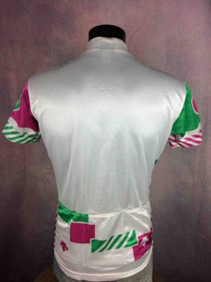 DESCENTE Camiseta Jersey Maillot Maglia Made in Japan True Vintage 90s Design