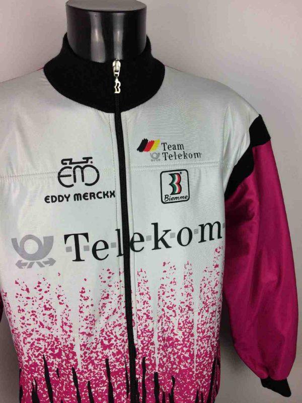 DEUTSCHE TELEKOM Veste Merckx Vintage 90s Gabba Vintage 2 resultat - Veste Vélo Deutsche Telekom Vintage Année 90