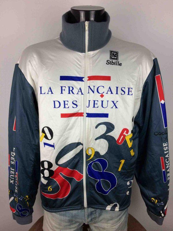 FRANCAISE DES JEUX Veste Sibille Vintage 90s - Gabba Vintage
