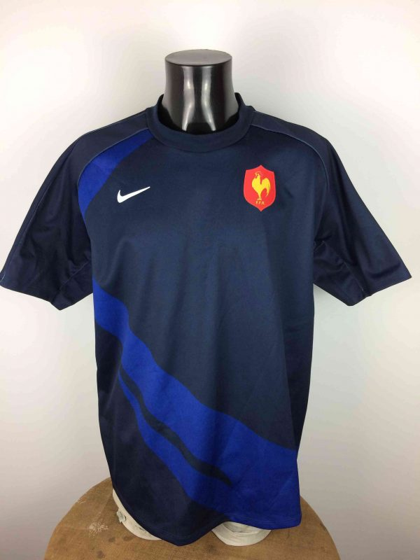 FRANCE Maillot FFR Nike Rugby 2007 World Cup - Gabba Vintage