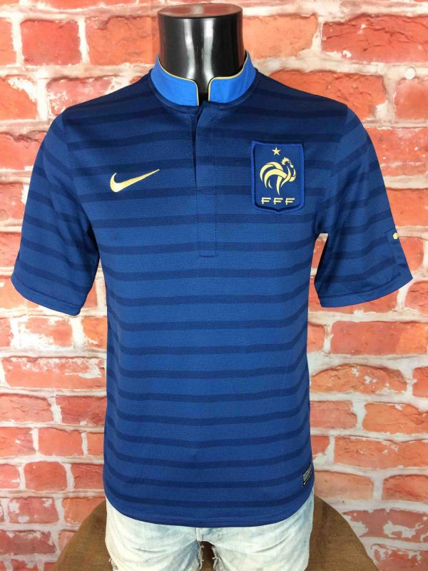 FRANCE Maillot Home 2012 2013 Nike Euro FFF - Gabba Vintage