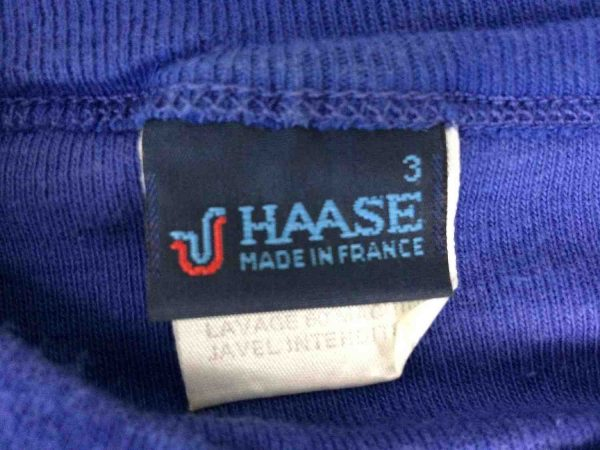 HAASE Maillot Made in France Vintage 80s Gabba Vintage 4 resultat rotated - HAASE Maillot Made in France Vintage 80s