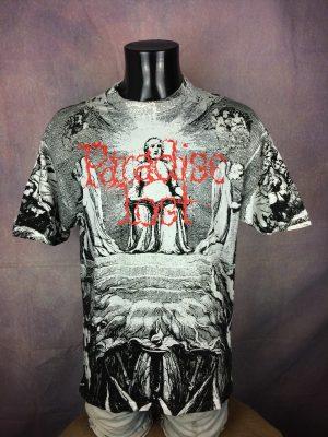 Paradise Lost T-Shirt Vintage 90s Rare - Gabba Vintage