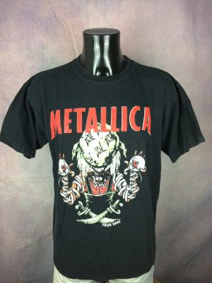 Metallica T-Shirt Tour 2003 Double Sided - Gabba Vintage