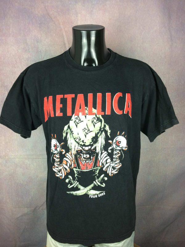 Metallica T-Shirt Tour 2003 Double Sided - Gabba Vintage