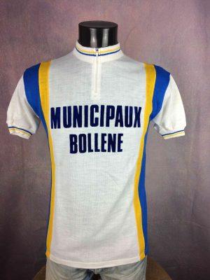 MUNICIPAUX BOLLENE Maillot MS Vintage 70s - Gabba Vintage