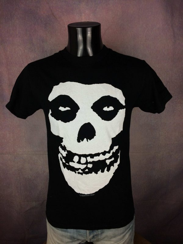 Misfits T Shirt Official Double Sided Skull Gabba Vintage 2 scaled - Misfits T-Shirt Official Double Sided Skull