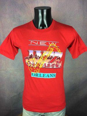 NEW ORLEANS JAZZ T-Shirt Vintage 1987 USA - Gabba Vintage (3)