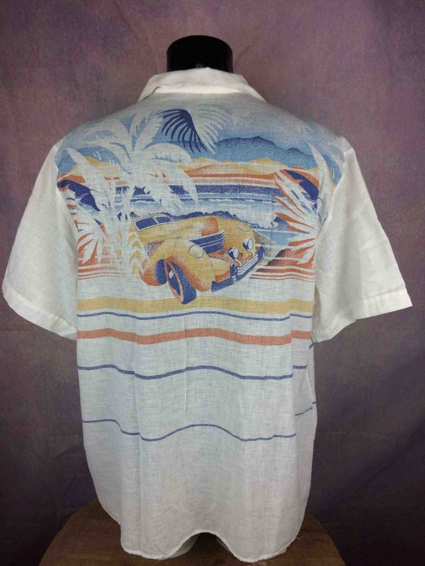 ONTARIO Chemise Vintage 80s Made in France - Gabba Vintage