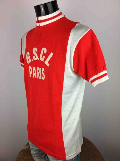 PARIS GSCL Maillot Vintage 80 Made in France - Gabba Vintage