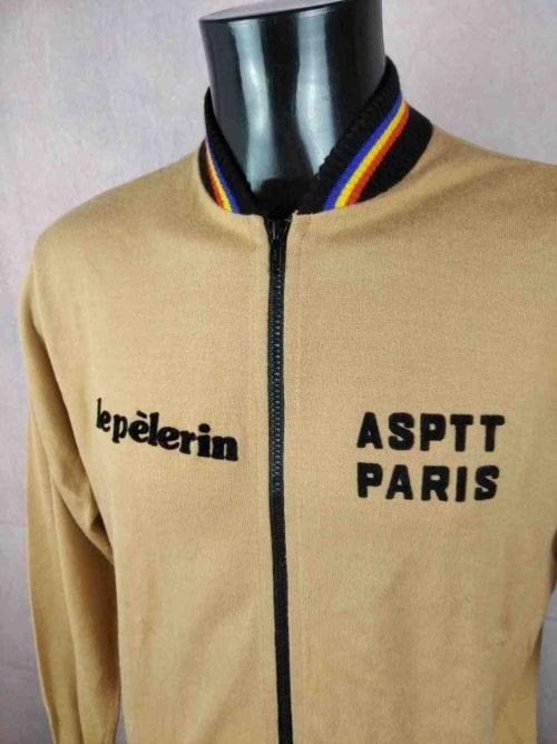 PARIS Veste Vintage 80s Made France Pelerin - Gabba Vintage