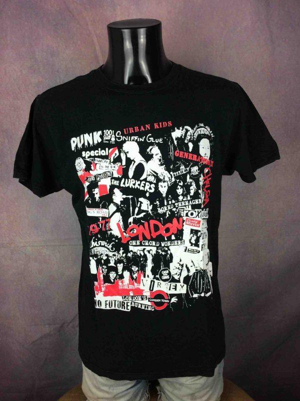 Punk T Shirt Vintage 80s Sex Pistols Damned Gabba Vintage 2 scaled - Punk T-Shirt Vintage 80s Sex Pistols Damned