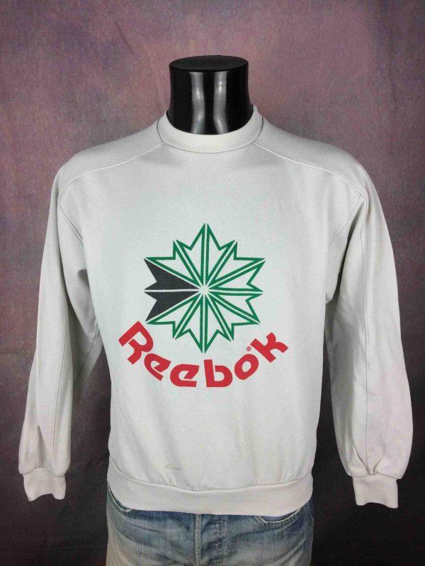 REEBOK SweatShirt Vintage Starcrest Logo - Gabba Vintage