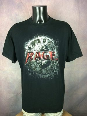 Rage T-Shirt Carved In The Road Tour 2008 - Gabba Vintage
