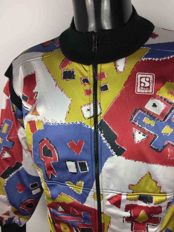 SIBILLE Veste Made in Italy Vintage 90s Gabba Vintage 2 resultat - SIBILLE Veste Hiver Made in Italy Vintage 90s