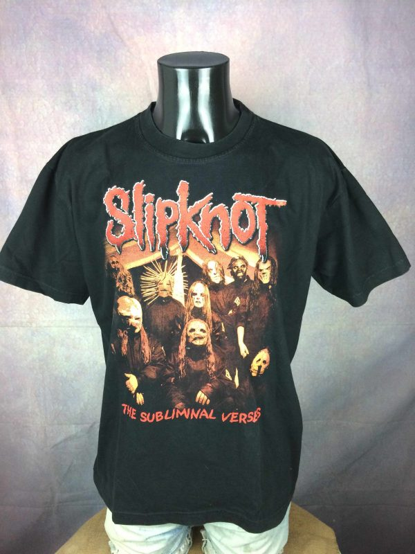 SLIPKNOT T-Shirt The Subliminal Verses 2005 - Gabba Vintage