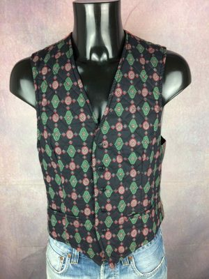 SOULEIADO Gilet Vintage 90s Made in France - Gabba Vintage
