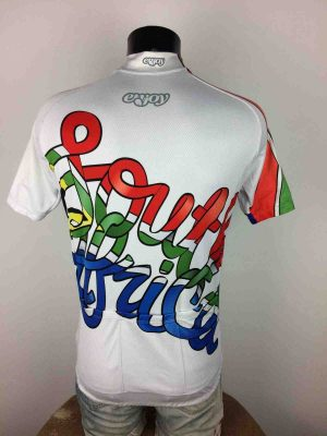 SOUTH AFRICA Jersey Maillot Enjoy Drapeau - Gabba Vintage