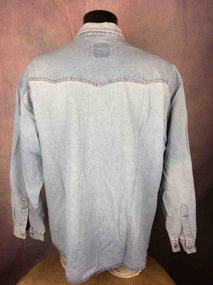VITAMINE Chemise Jeans France Vintage 90s - Gabba Vintage
