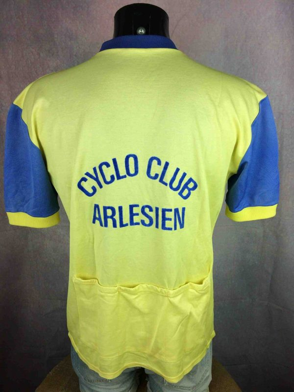 ARLES CYCLO CLUB Maillot Vintage 80s France - Gabba Vintage