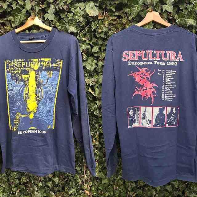 sepultura t shirt - Velvet Underground : le dernier t-shirt tour