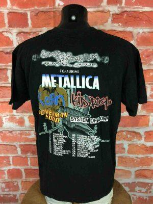 SUMMER SANITARIUM 2000 T-Shirt Metallica - Gabba Vintage