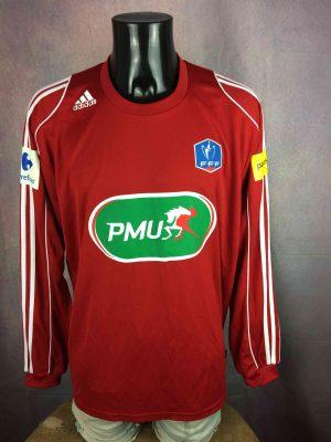 ADIDAS Jersey Coupe de France 2010 Porté - Gabba Vintage