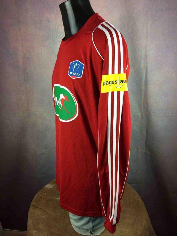 ADIDAS Jersey Coupe de France 2010 Porte Gabba Vintage 4 scaled - ADIDAS Jersey Coupe de France 2010 Porté