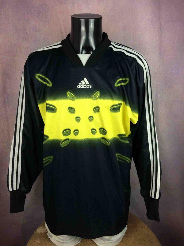 ADIDAS Jersey Maillot Goalkeeper Vintage 1999 - Gabba Vintage