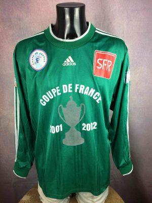 ADIDAS Maillot Coupe de France Vintage Porté - Gabba Vintage