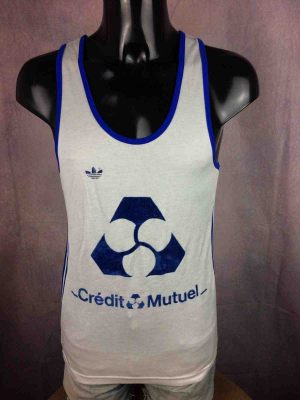 ADIDAS Maillot Made in France Vintage 80s - Gabba Vintage