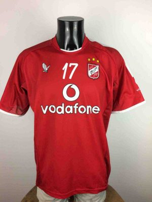 AL AHLY Maillot #17 2006 Home Cairo Egypt - Gabba Vintage