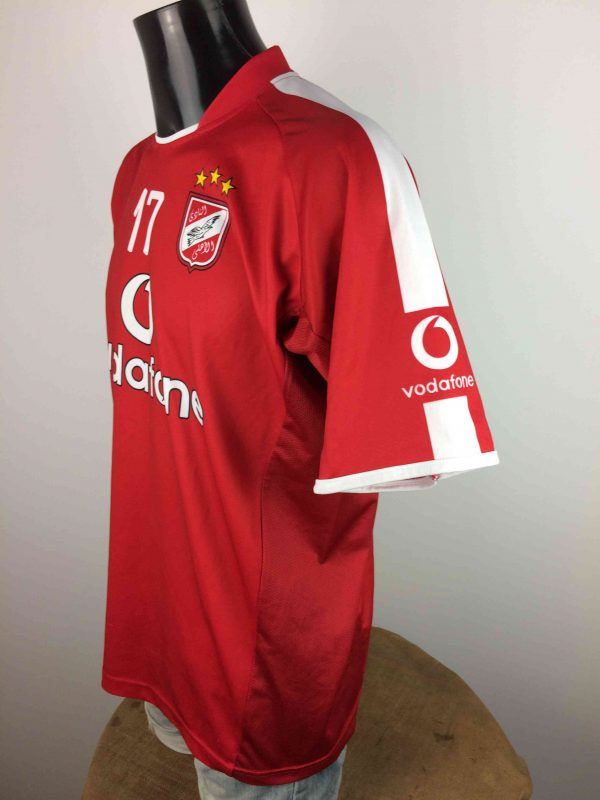 AL AHLY Maillot 17 2006 Home Cairo Egypt Gabba Vintage 3 scaled - AL AHLY Maillot #17 2006 Home Cairo Venecia