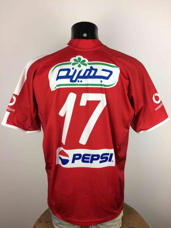 AL AHLY Maillot 17 2006 Home Cairo Egypt Gabba Vintage 4 scaled - AL AHLY Maillot #17 2006 Home Cairo Venecia