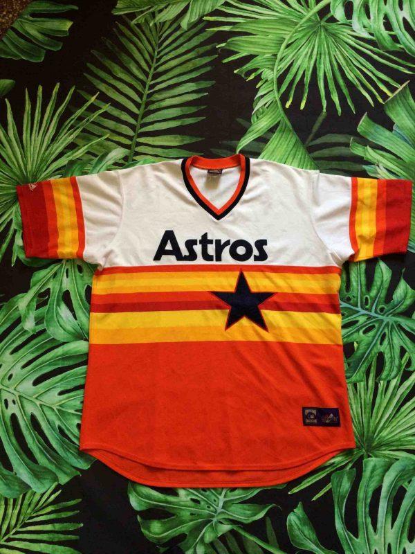 ASTROS HOUSTON Jersey Vintage 00s Majestic - Gabba Vintage