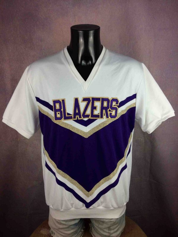 BLAZERS Jersey Cheerleading Made In USA NHL - Gabba Vintage (1)