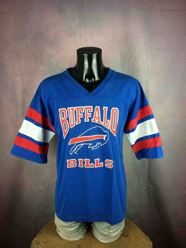 BUFFALO BILLS Maillot T-shirt Vintage 80 NFL - Gabba Vintage