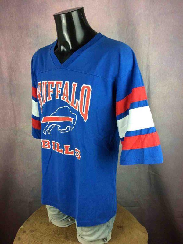 BUFFALO BILLS Maillot T shirt Vintage 80 NFL Gabba Vintage 3 resultat - BUFFALO BILLS Maillot T-shirt Vintage 80 NFL