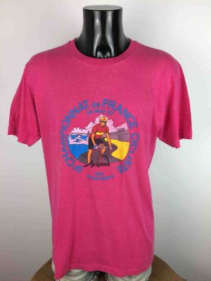 CHAMPIONNAT DE FRANCE CYCLISTE 1987 T-Shirt - Gabba Vintage